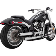 Vance And Hines 16722 - Mufflers S-chrome Eliminator 300 2018 Soft Tail
