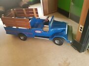 Vintage Nearly New Condition Kingsbury Toys And039kraftand039 Kids Ride On 6v Pickup Truck