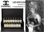 Limited Edition Collectibles Les Exclusifs De Perfume Collection Gift Set