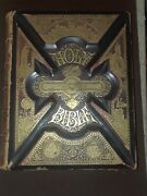 Antique 1889 Pictorial Family Bible