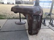 40andrsquos 50andrsquos Ford Tractor 8n 9n 2n Hood Grill Old Original Rusty Patina