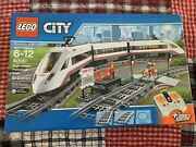Lego Cityhigh-speed Passenger Train+power Functions610 Pieces60051sealed