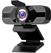 1080p Full Hd Usb Webcam For Pc Desktop And Laptop Web Camera With Microphone/fhd