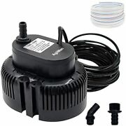 Pool Cover Pump Above Ground, Submersible Sump, Swimming Water 850 Gph Free Ship
