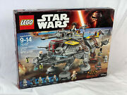 Lego 75157 Star Wars Captain Rexand039s At-te New Sealed Retired