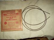 Nos Speedometer Cable For Various 1940and039s Ply Dod Des Chrysler Pn 860195