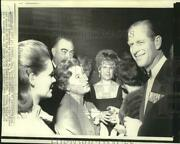 1969 Press Photo Philip And Ladies At Naval Officers Dinner In Toronto