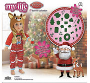 New My Life As Rudolph Advent Calendar Reindeer Outfit For Doll Christmas 2020