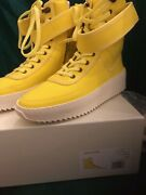 Fear Of God Yellow Nylon Military Sneakers