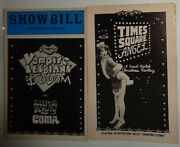 Vampire Lesbians Of Sodom / Sleeping Beauty Or Coma, Times Square Angel Showbill