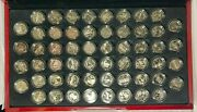 56 Coin Proof Clad 50 State And Dc And 5 Territories Complete Us Quarter Set