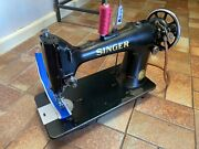 Original Singer Cast Iron 103k Canvas Upholtery Sewing Machine Head Only