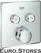 Grohe Grohtherm Smartcontrol Thermostat, With 2 Shut-off Valves New