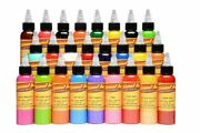 On Sale Hot Authentic Eternal Tattoo Ink 25 Set Colors Of 1oz /30ml Bottles