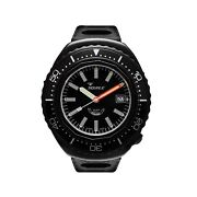 Squale 2002.pvd.bk.bk.nt 1000 Meter Swiss Automatic Dive Wristwatch Rubber