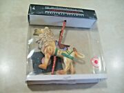 Smithsonian Collection Carousel Animals Christmas Ornament Lion