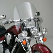 N21105 National Cycle Switchblade Windshield 2-up Clear