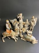 Cybis Nativity Set 15 Pieces Absolutely Beautiful And Delicate