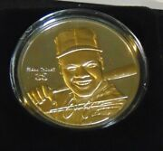 Frank Thomas White Sox .999 Silver W/24kt Gold Round Highland Mint Coin 1/1000