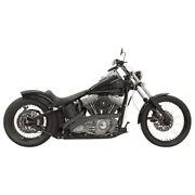 Bassani Radial Sweeper Blk For 01-06 H-d Softail Stand. Injec.fxst I
