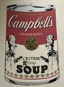 Warhol Look-alike Michael Mckenzie Campbelland039s Culture Soup Signed Lithograph