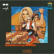 Real Bout Fatal Fury Game Soundtrack Cd Japan Real Bout 3 Arrange Sound Trax