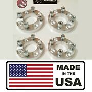 [sr] 4pc 25mm 1 Thick Front And Rear Wheel Spacers Yamaha Golf Carts M12x1.25