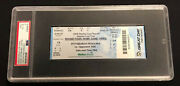 2009 Stanley Cup Finals Game 6 Ticket Penguins Red Wings Psa Vg-ex 4 Grade