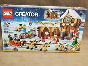 Lego Creator Santaand039s Workshop 10245 New And Sealed. Fast Shipping