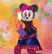 Disney Minnie Mouse Catrina Doll Day Of The Dead Sugar Skulls Collectors