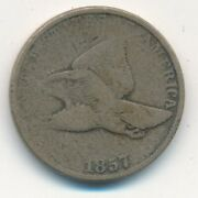 1857 Flying Eagle Cent-very Nice Circulated Small Cent-ships Free Inv12