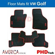 Prime Quallity Golfmk5/mk6 All Weather Tailored Rubber Car Floor Mats