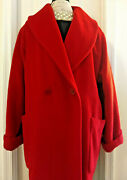 Louis Feraud Mohair/wool Coat Size 10 / Made In Germany