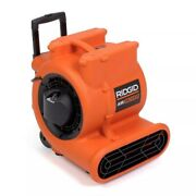 Ridgid Air Mover Portable Floor Dryer And Blower Fan W/wheels And Retractable Handle