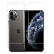 Frosted Hydrogel Soft Screen Protector Full Cover Film For Iphone 11pro Max Lot