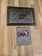 Lot Of 2 Pabst Pbr Beer Mirrors Na Andeker
