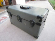 Vintage Fibre Products Manufacturing Co. Hard Case Camera Industrial Field Box