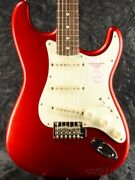 Fenderhybrid 60s Stratocaster -candy Apple Red- - From Japan - Free Shipping