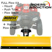 Moose Snow Full Rm4 Plow Kit W/ Pulley Kit And03915 Can-am Outlander 500l