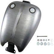 Drag 1 Piece 2 Extended Gas Tank W/dual Screw In Caps Harley Fxr 1982-2000