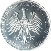 Germany 1990 Unification Medal Unc