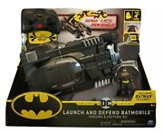 New Launch And Defend Batmobile Rc Scale 118 Included Exclusive 4 Batman Figure