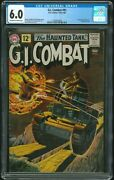 G.i. Combat - Cgc 6.0 First Haunted Tank Cover