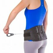 Lower Back And Spine Pain Brace Corset Support For Lumbar Strain Arthritis