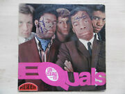 The Equals Autogramme Signed Lp-cover Unequalled Equals Vinyl