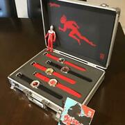 Ultraseven 50th Anniversary Set Of 5 Complete Watch Special Box Case