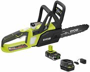 Ryobi 18v One+ Lithium+ 10-inch Lithium-ion Cordless Chainsaw With 1.5 Ah Batter