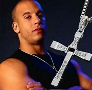 Stainless Steel Necklace In Movie Fast And Furious Dominic Toretto Vin Diesel