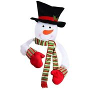 20xnew Christmas Snowman Top Decoration Of Christmas Tree New Year