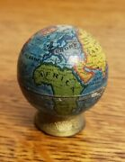 Vintage Globe Pencil Sharpener Made In Germany Great Condition